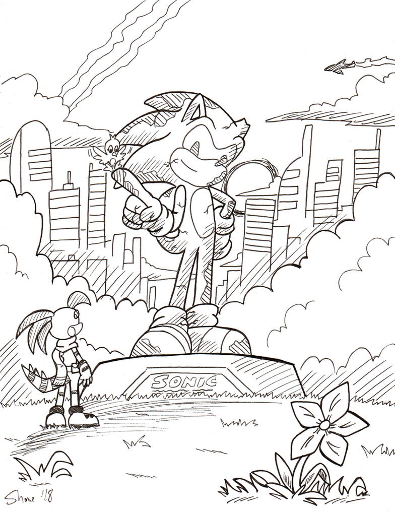Sonictober - 31 - Remembrance by Sea-Salt