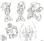 Sonic references by Sea-Salt