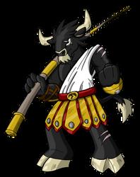 Torzantos, the Legendary Hero by Sea-Salt