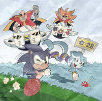 Sonic Legacy (circa 1990s) by Sea-Salt