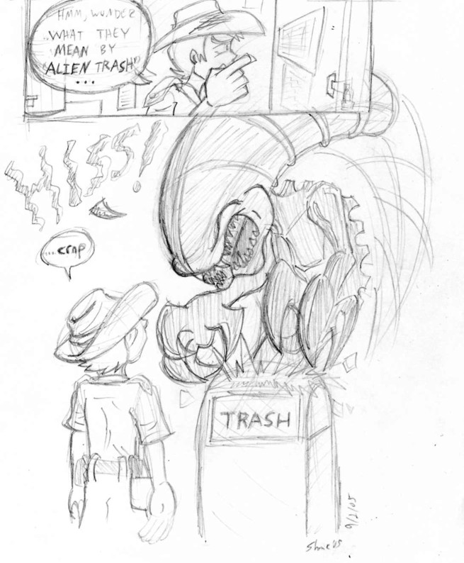 Alien Trash by Sea-Salt