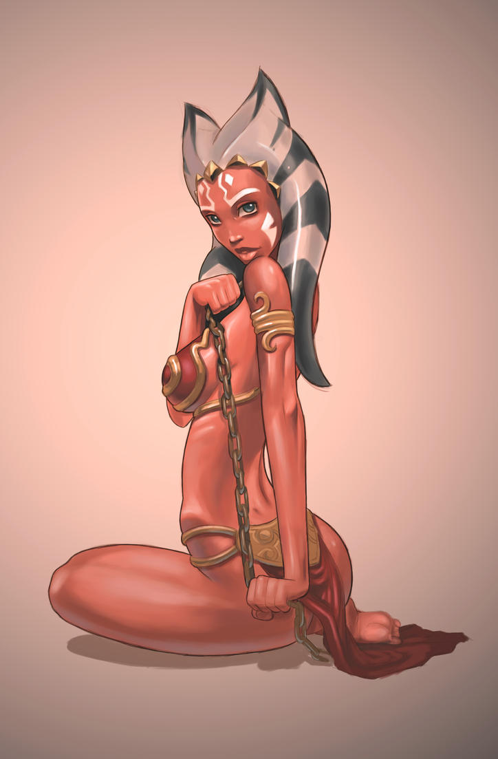 ahsoka slavegirl by darthdifa