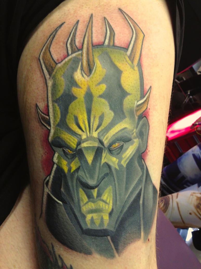 savage tattoo by darthdifa