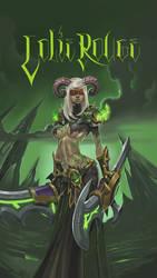 blood elf Demonhunter by darthdifa