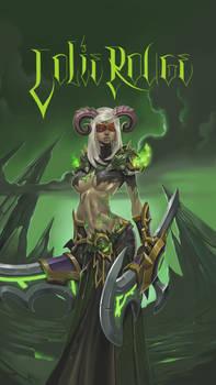 blood elf Demonhunter