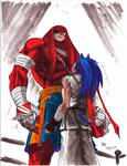 Street Fighter - Sonic vs. Knuckles