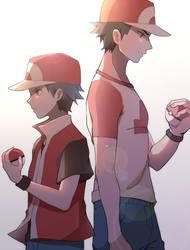 Pokemon- Red by Alpakappa