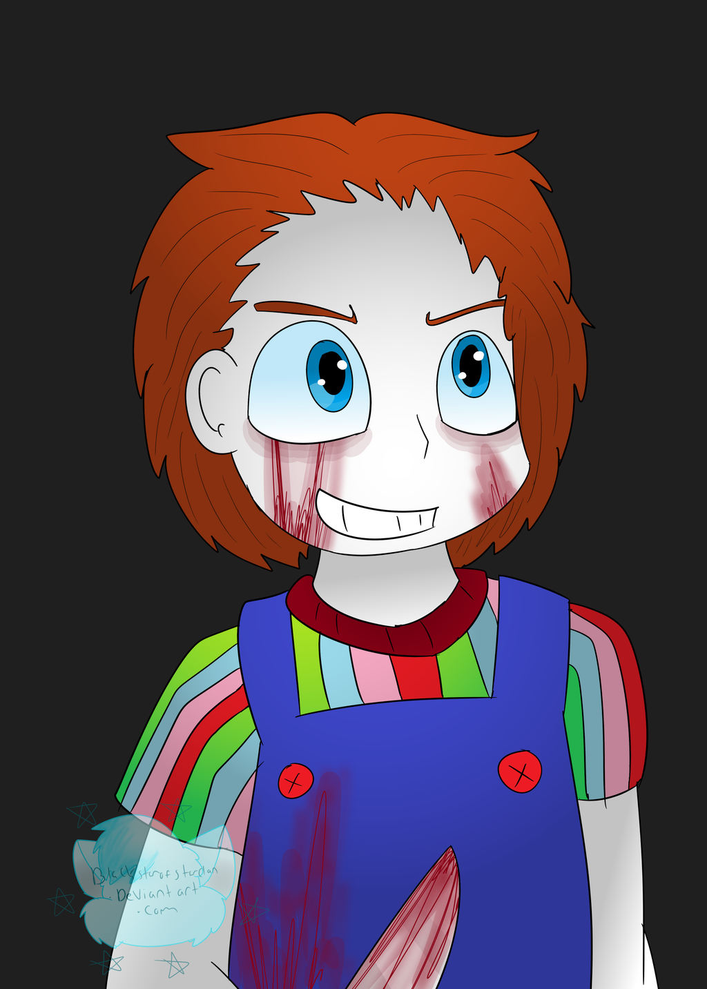 Chucky The Killer Doll By NekoSugarStar