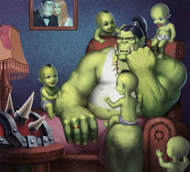 orcs by bigvictor666