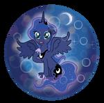 Luna in cute mod by JetPony