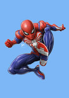 Spider-Man/PS4 by Machyavelli