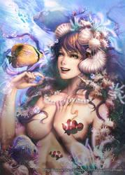 Mermaid by wanhsienwei