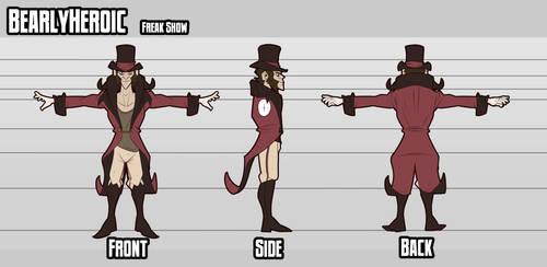 Freakshow Character Turnaround
