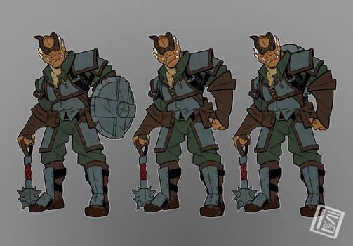 Arc'hron Character sheet