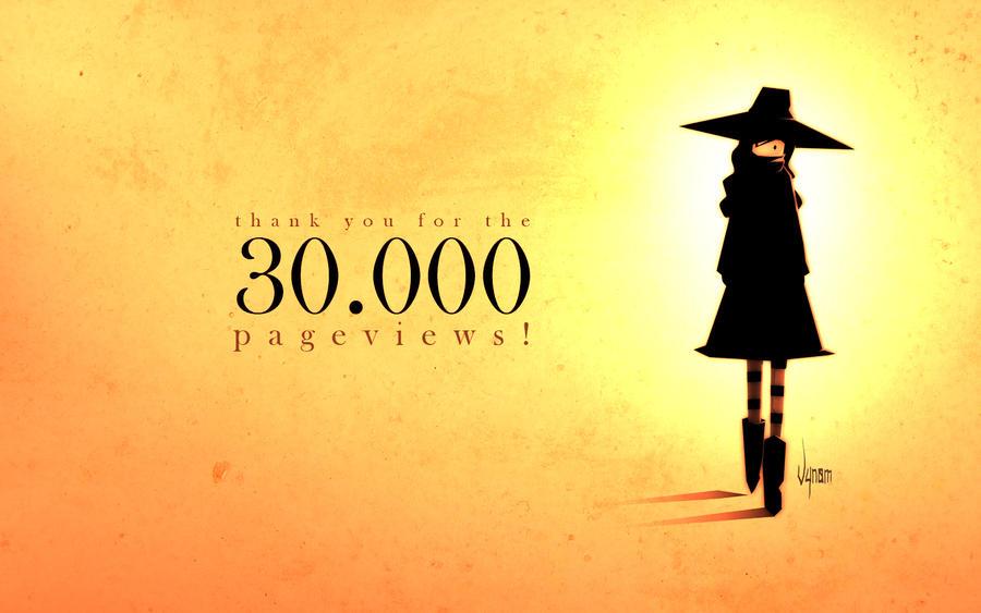 30.000 pageviews by V-nom