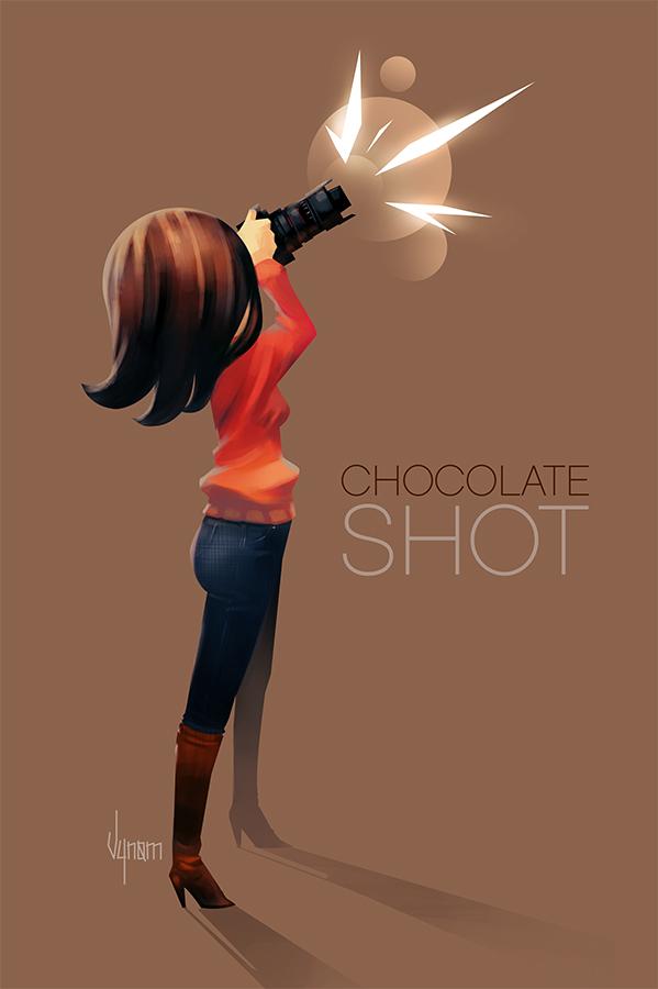 Chocolate shot by V-nom
