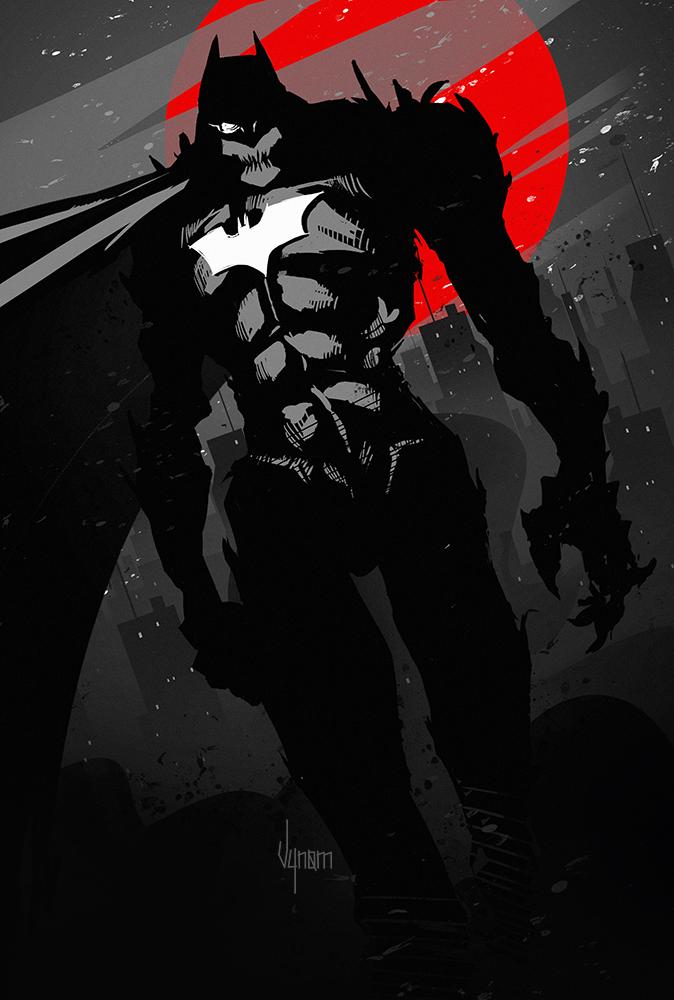 Batman by V-nom