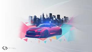 Wallpaper - Nissan GTR