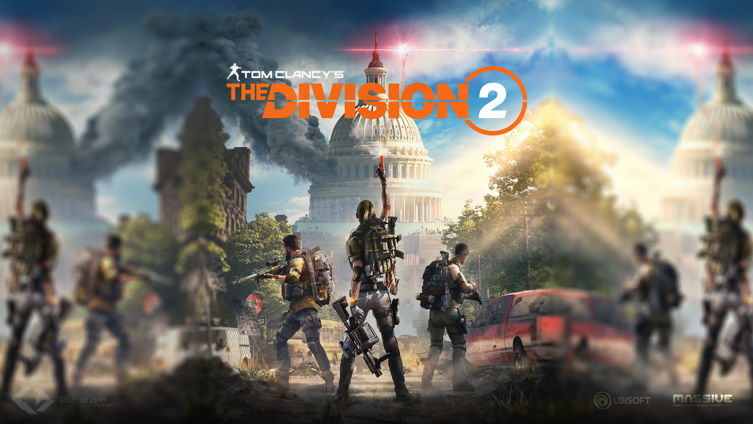 Wallpaper - The Division 2 by GraphFutur on DeviantArt