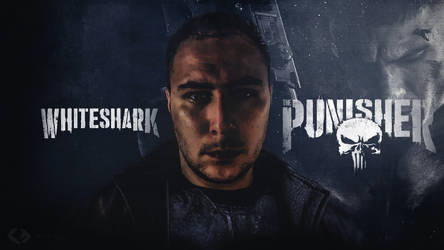 Wallpaper - The Punisher WhiteShark by GraphFutur
