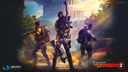 Wallpaper - The Division 2 by GraphFutur