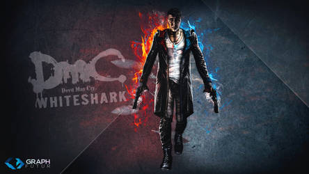 Wallpaper - DmC (whiteshark) by GraphFutur
