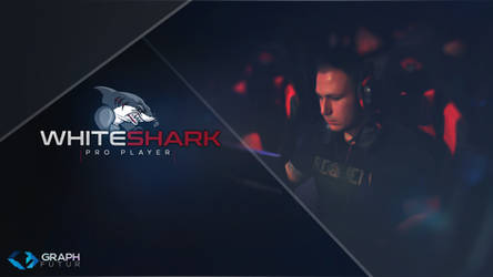 Wallpaper - Pro Player (Whiteshark) by GraphFutur