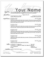 Resume Layout 5 by eriney