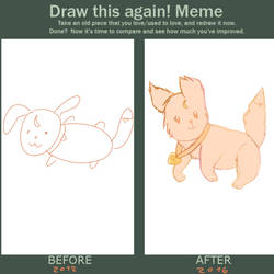 Draw this again meme- Flying Cat Thingy by Shizukoname