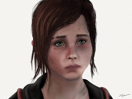 Ellie - The Last of Us by JDGowing