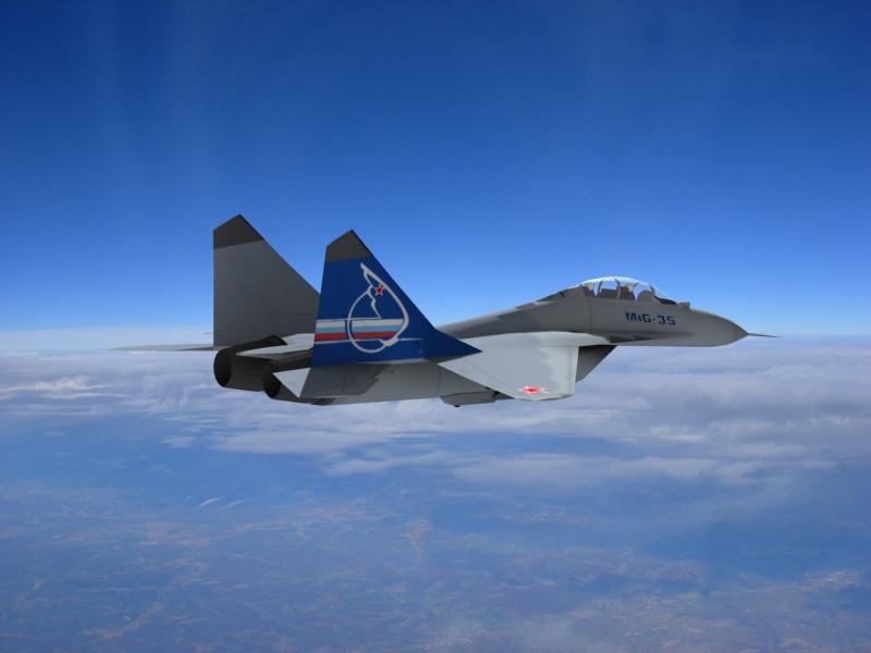Mikoyan MiG-35 D Fulcrum-F by KYPMbangi