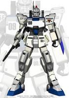 Gundam Ez-8 by KYPMbangi