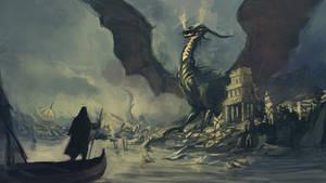 Le Guin  Earthsea series by SteveSilvers