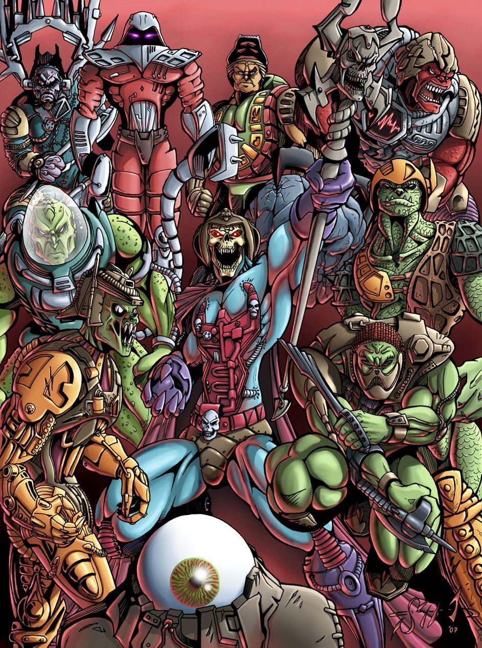 MotU - New Adventures of He-Man Vol.2 by Killersha