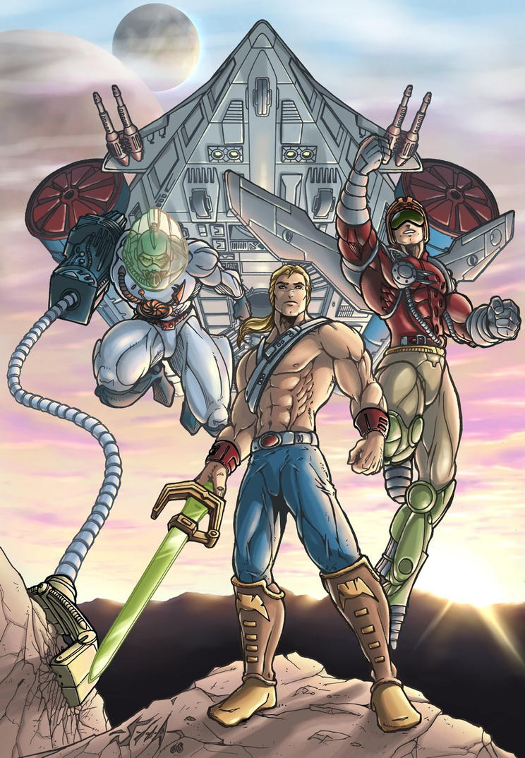 MotU - New Adventures of He-Man Vol.3 by Killersha