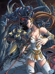 MotU - Teela Orko Evil-Lyn Webstor