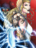 Masters of the Universe - He-Man and She-Ra v2 by Killersha