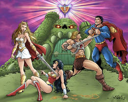 Motu vs DC by Killersha
