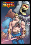 MotU He-Slave and Skeletor