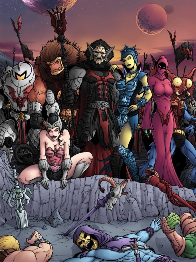 MotU  The Evil Hordes Victory by Killersha