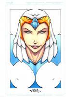 Sorceress of Castle Grayskull by Killersha