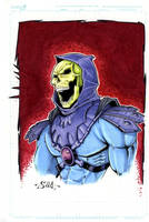 Skeletor by Killersha