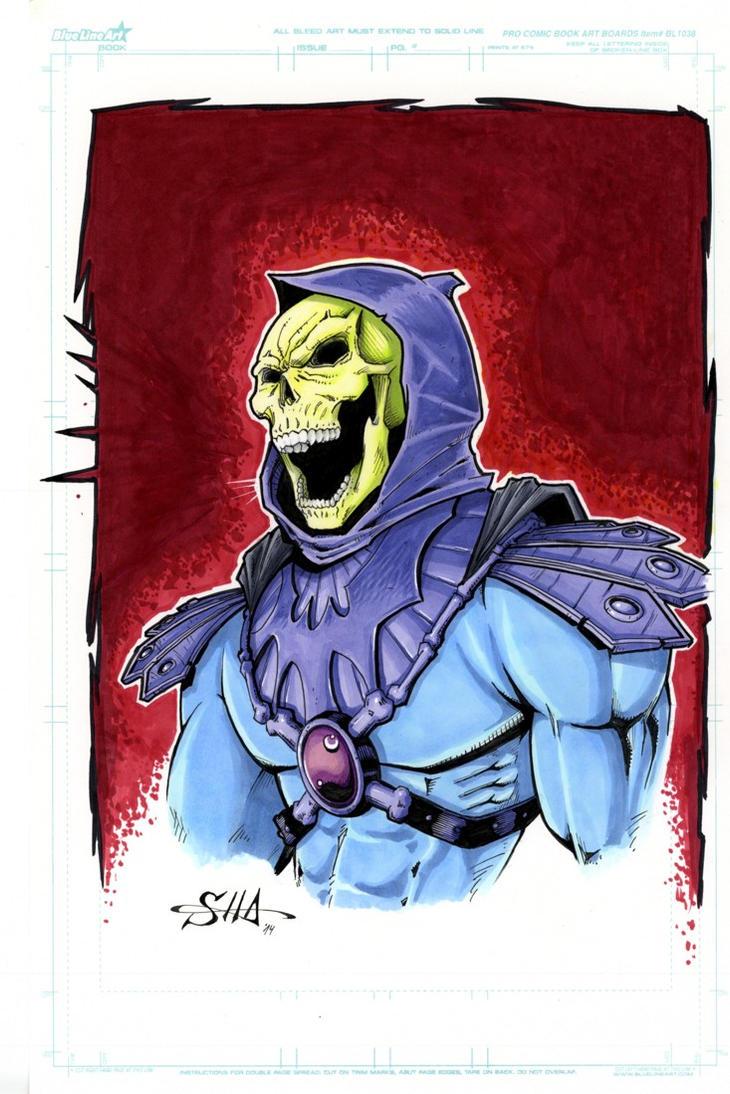 Skeletor by Killersha