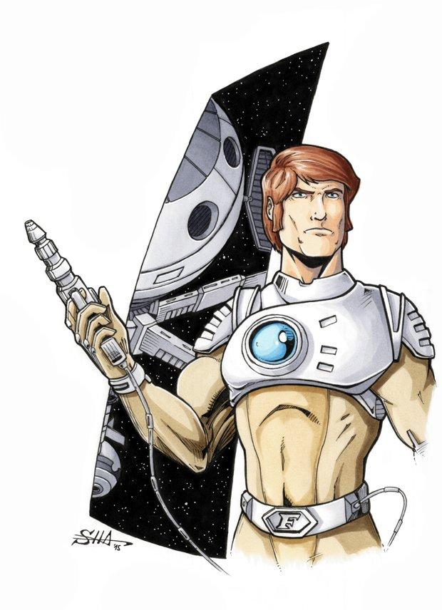Captain Future 4 by Killersha