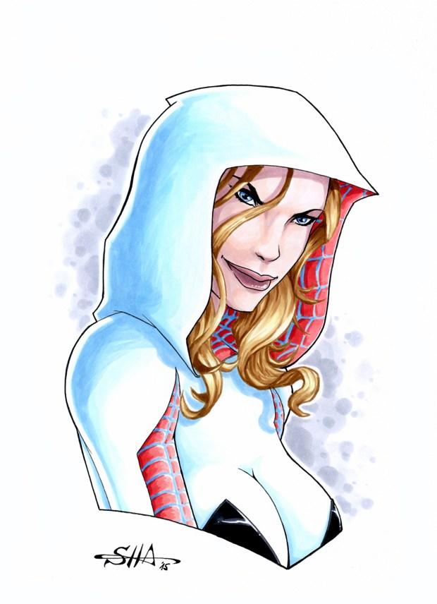 Spider-Gwen 1 by Killersha