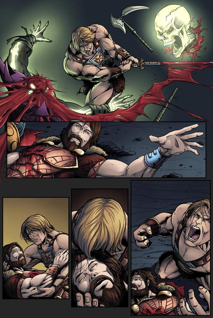 Masters of the Universe - Fall Of Grayskull p.09 by Killersha