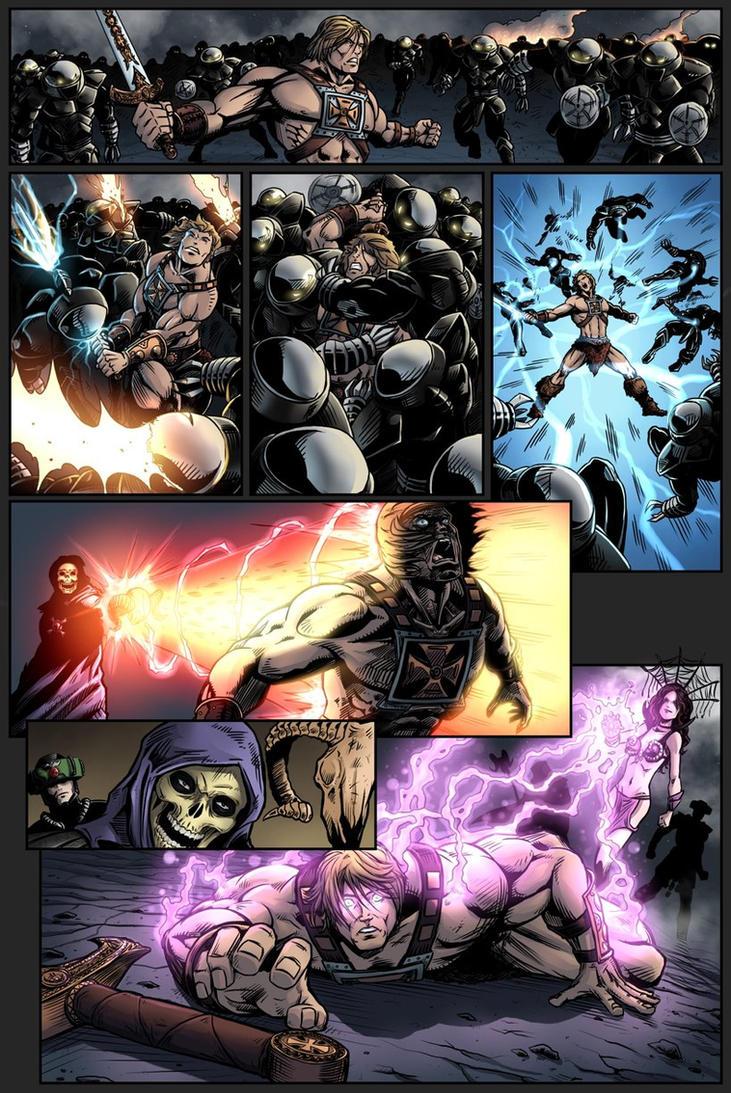 Masters of the Universe - Fall Of Grayskull p.10 by Killersha