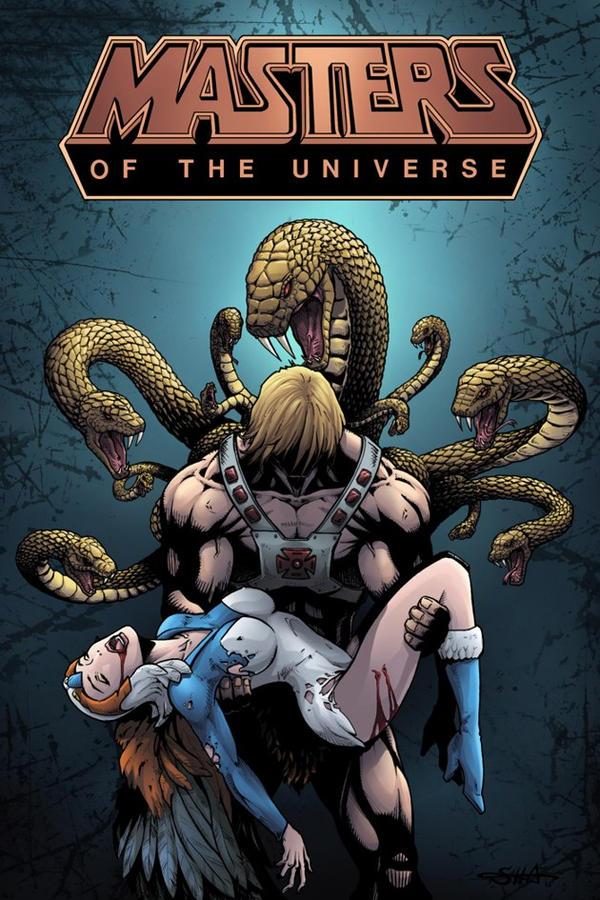 MotU - Death of the Sorceress by Killersha