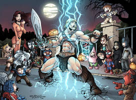 Masters of the Universe - Halloween on Earth
