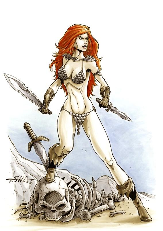 Red Sonja by Killersha
